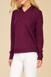 Staccato Soft Hooded Sweater - Front full body