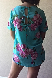 Staccato Summer Floral Blouse - Front full body