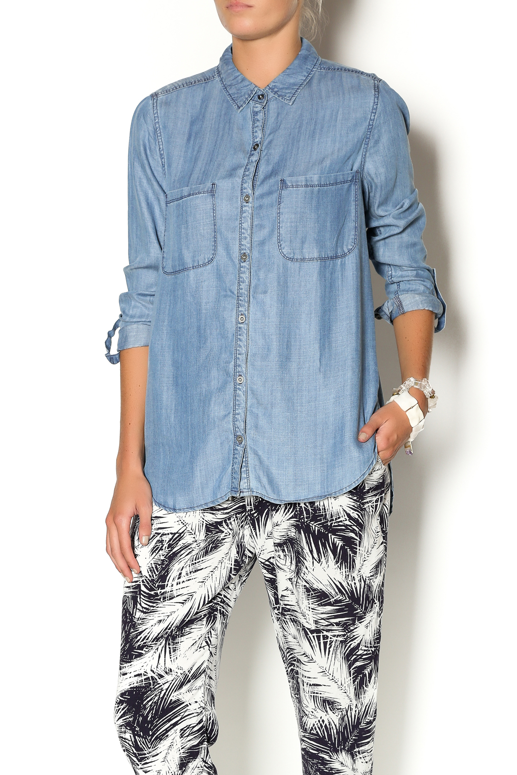 Staccato Tencel Shirt from Utah by Q Clothing — Shoptiques