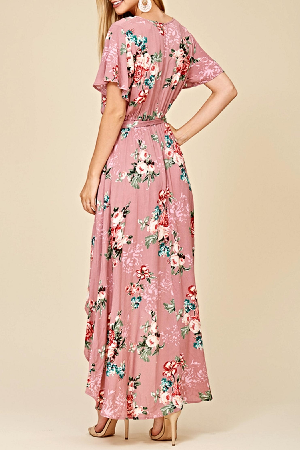 Staccato The Ani Maxi Dress - Back Cropped Image