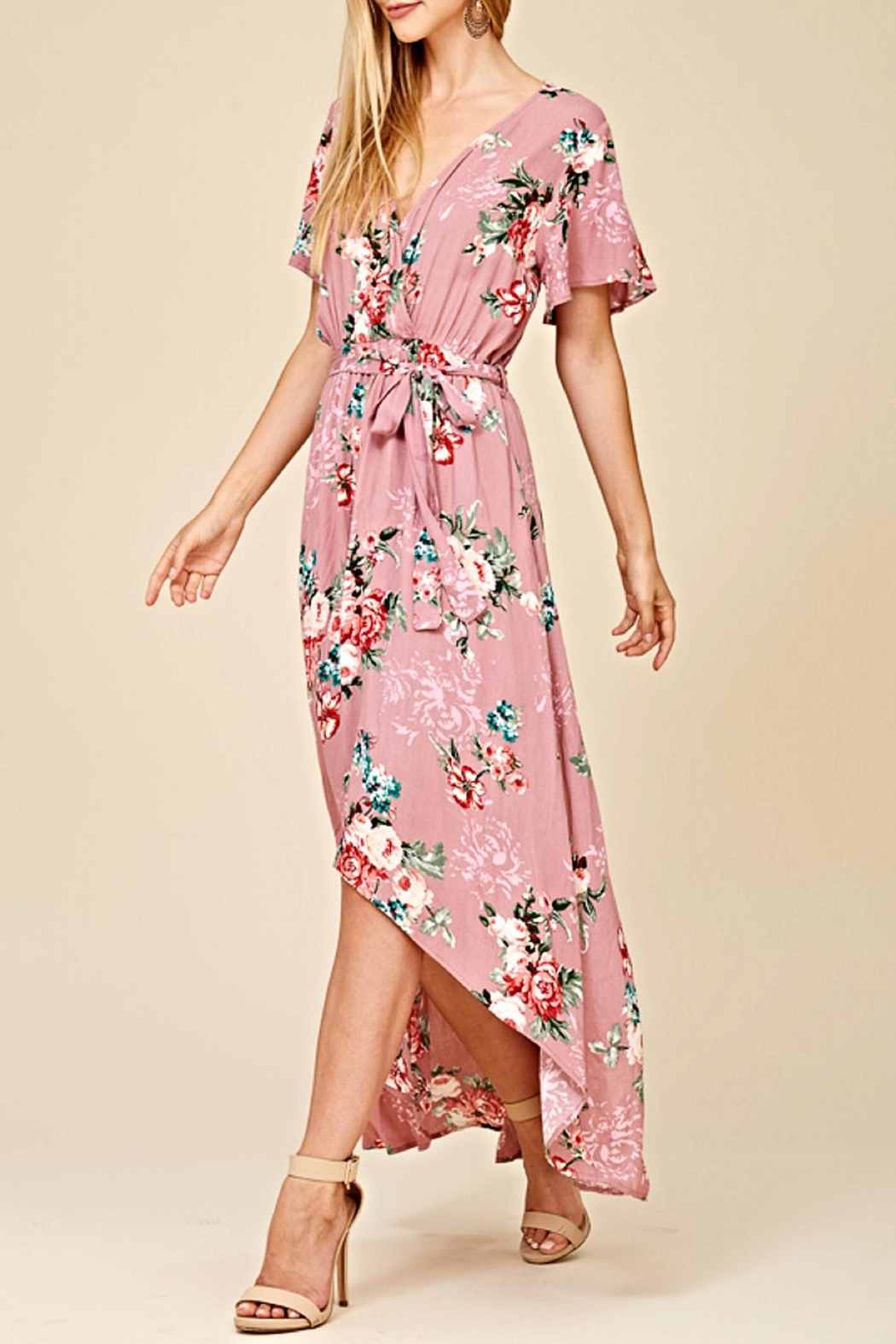 Staccato The Ani Maxi Dress - Side Cropped Image