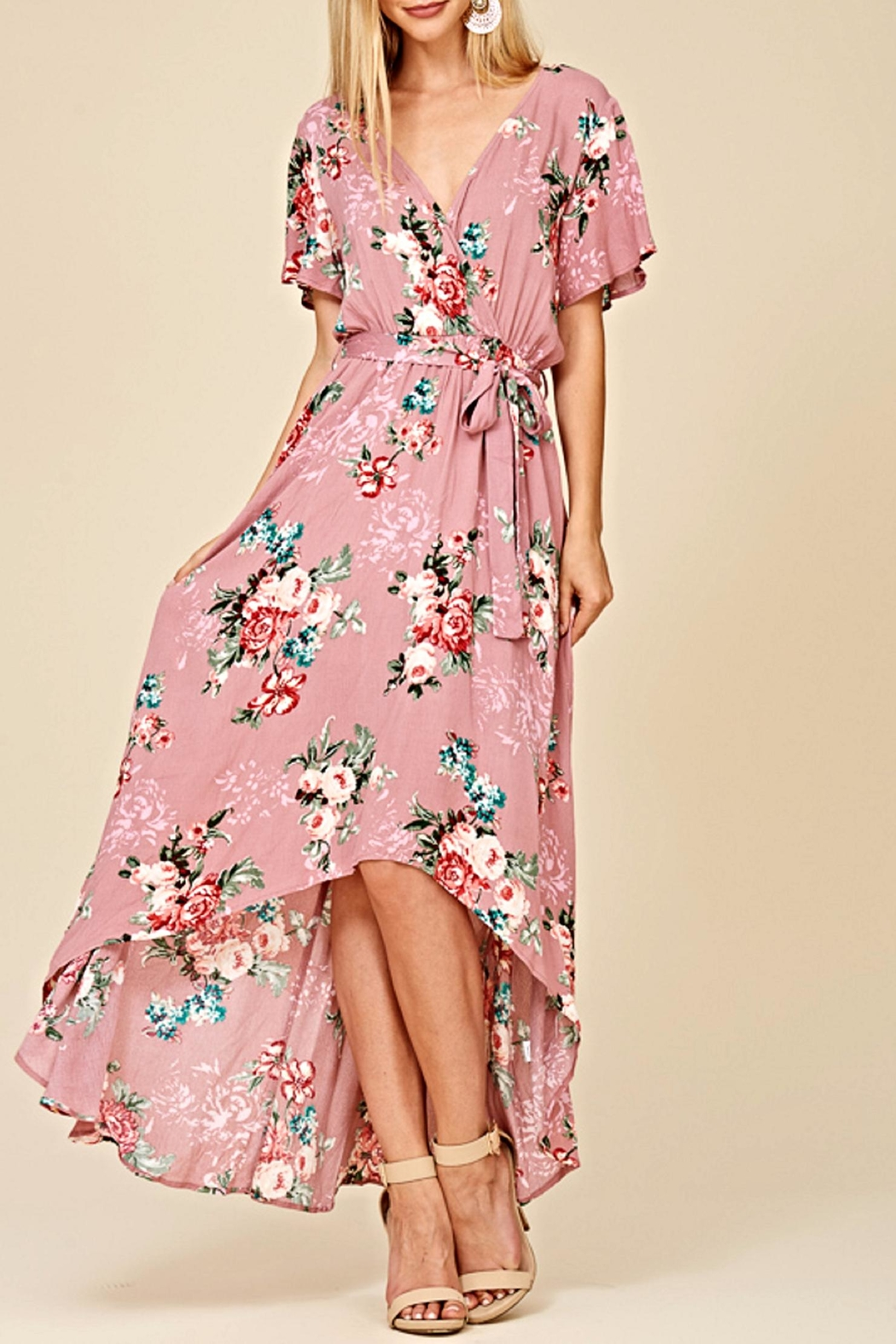 Staccato The Ani Maxi Dress - Front Full Image