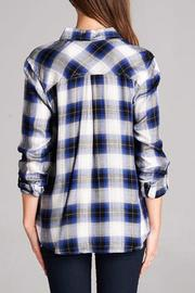 Staccato The Zoey Plaid Top - Other