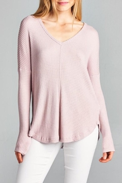 Staccato Waffle Knit Top - Product List Image