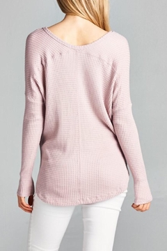 Staccato Waffle Knit Top - Alternate List Image