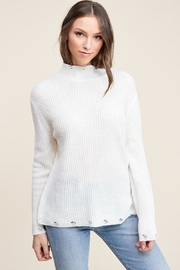 Staccato Winter White Sweater - Front full body
