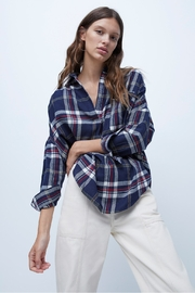 French Connection Stacci Plaid Shirt - Product Mini Image