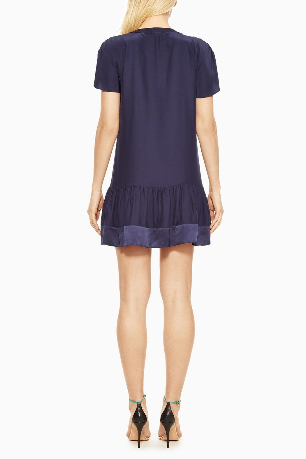 Parker Stacey Silk Dress - Side Cropped Image