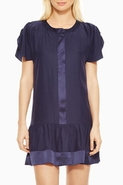 Parker Stacey Silk Dress - Front full body