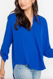 Lush Clothing  Stacey V-Neck Tunic Top - Front cropped
