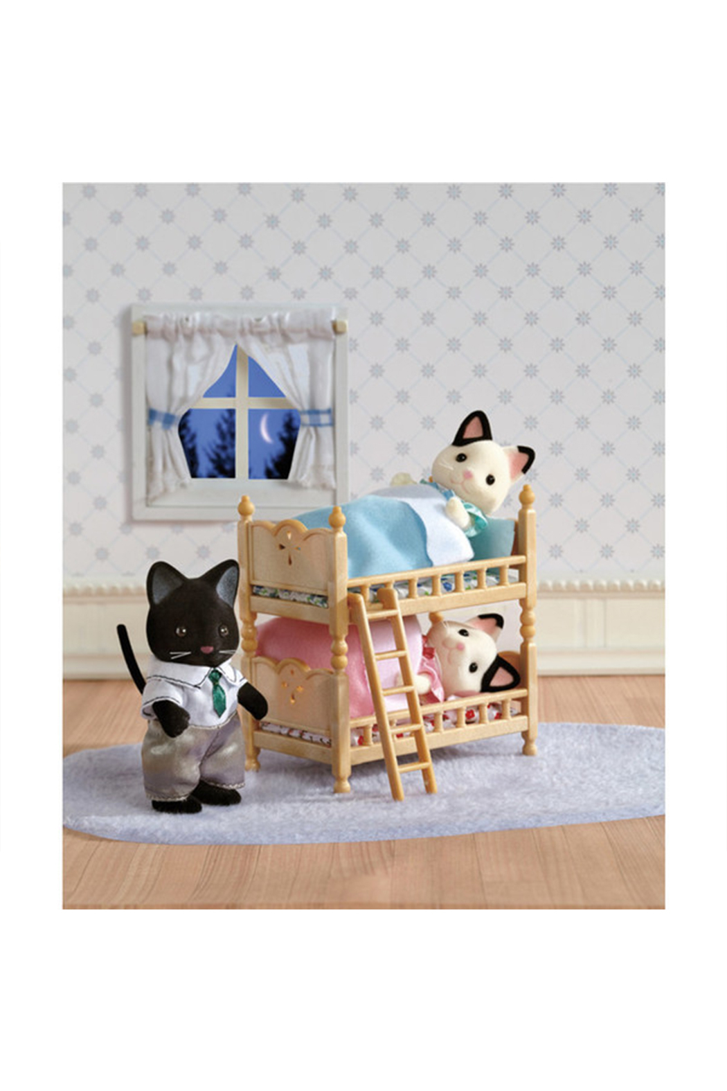 Calico Critters Stack And Play Bunk Beds - Side Cropped Image
