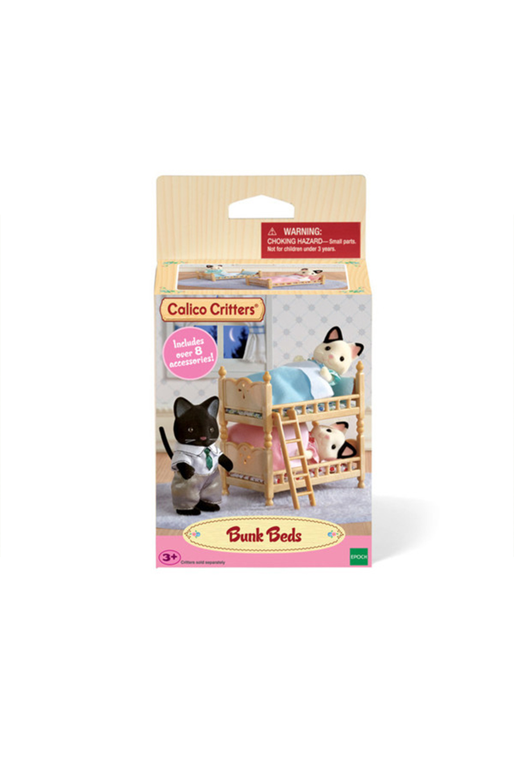 Calico Critters Stack And Play Bunk Beds - Main Image