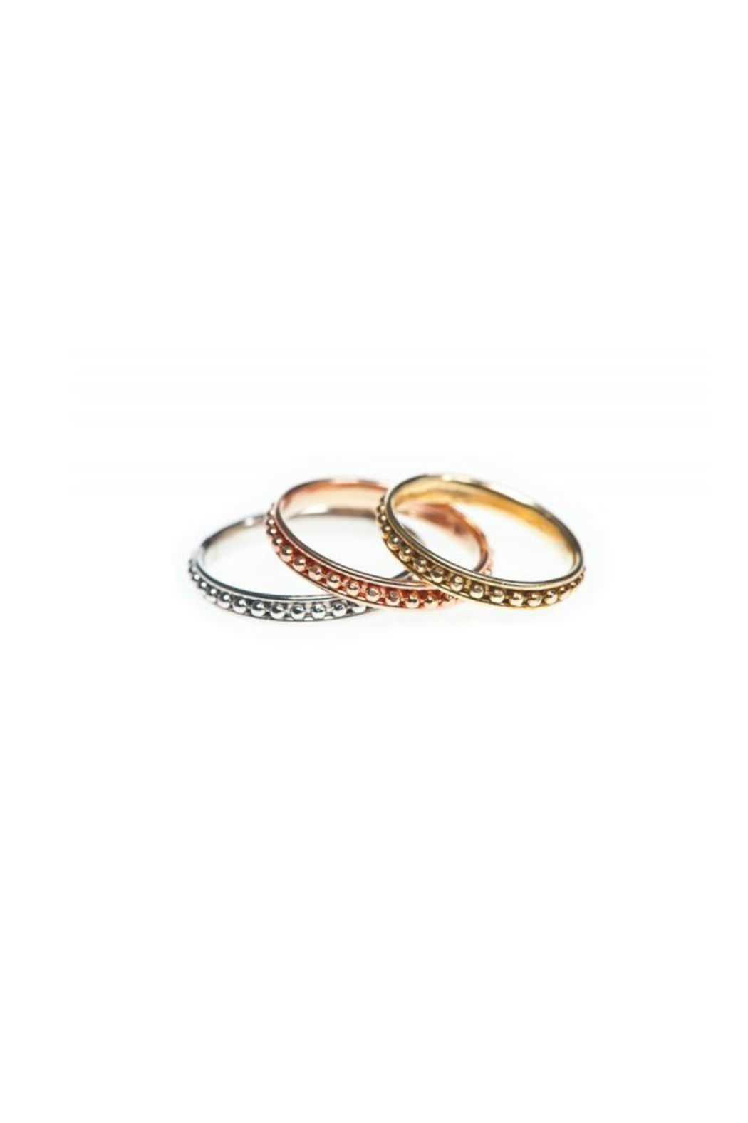 Maison Irem Stack Helen Ring - Front Cropped Image