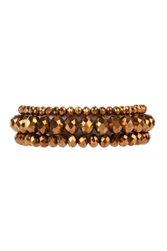 Riah Fashion Stack Rondelle Bracelet - Product List Image