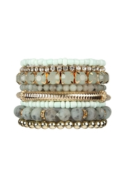Riah Fashion Stackable-Beads Bracelet Set - Product Mini Image