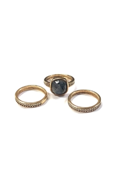 Shoptiques Product: Stackable Gemstone Rings