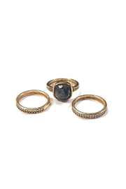 Marcia Moran Stackable Gemstone Rings - Front cropped