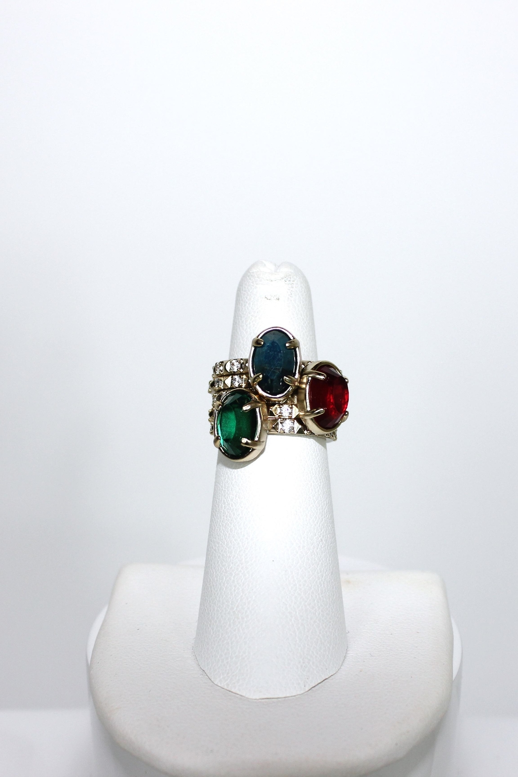 Kendra Scott Stackable Multicolor Rings - Main Image