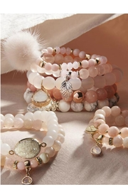 Charlie Paige Stacking Goddess Bracelet - Product Mini Image