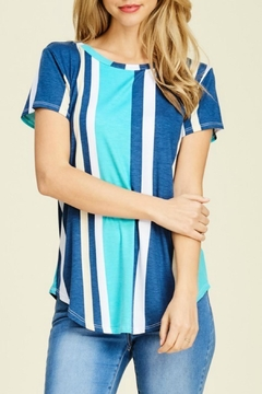 bombom Stacy Striped Tee - Product List Image