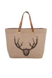 Mud Pie Stag Horn Tote - Product Mini Image