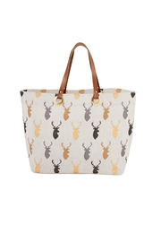 MUDPIE Stag Horn Tote - Product Mini Image