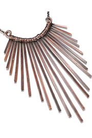 Anju Handcrafted Artisan Jewelry Staggered Fringe Necklace - Product Mini Image