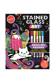 Klutz Stained Glass Art: Dazzling Designs - Product Mini Image