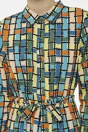 Compania Fantastica Stained glass dress - Side cropped