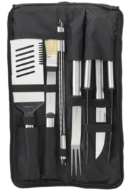 Picnic at Ascot  Stainless Barbecue Set (9 pcs) - Product Mini Image