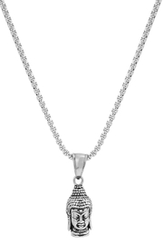 PlayHardLookDope Stainless Steel Necklace - Front cropped