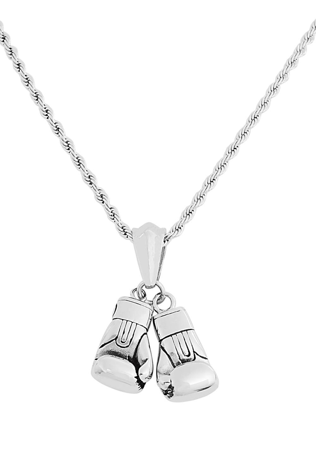 Made It! Stainless Steel Necklace - Main Image