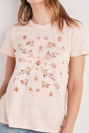 Lucky Brand Stamp Flower Tee - Product Mini Image