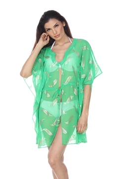 Shoptiques Product: Stamped Caftan Cover-Up