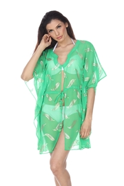 Kareena's Stamped Caftan Cover-Up - Product Mini Image