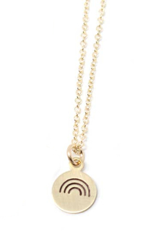 Crafts and Love Stamped Charm Necklace - Alternate List Image