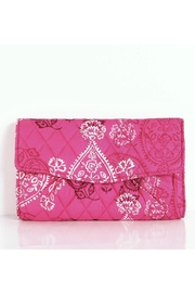 Vera Bradley Stamped Paisley Strap-Wallet - Product Mini Image