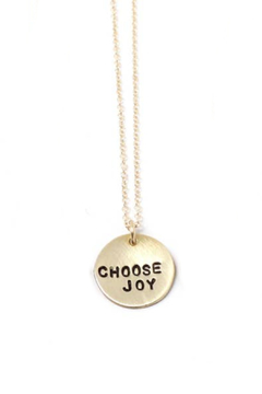 Crafts and Love Stamped Tiny Phrase Necklace - Alternate List Image