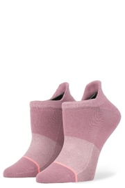 Stance Committed Purple Socks - Front cropped