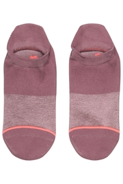 Stance Committed Purple Socks - Front full body