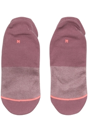 Stance Committed Purple Socks - Side cropped