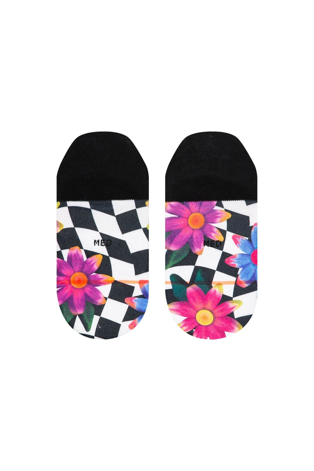 Stance Crazy Daisy Socks - Side Cropped Image