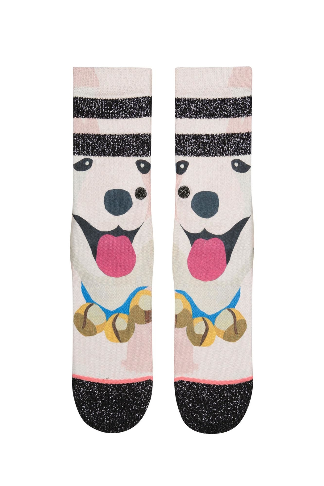 Stance Puppies Girls Socks - Front Full Image