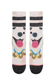 Stance Puppies Girls Socks - Front full body