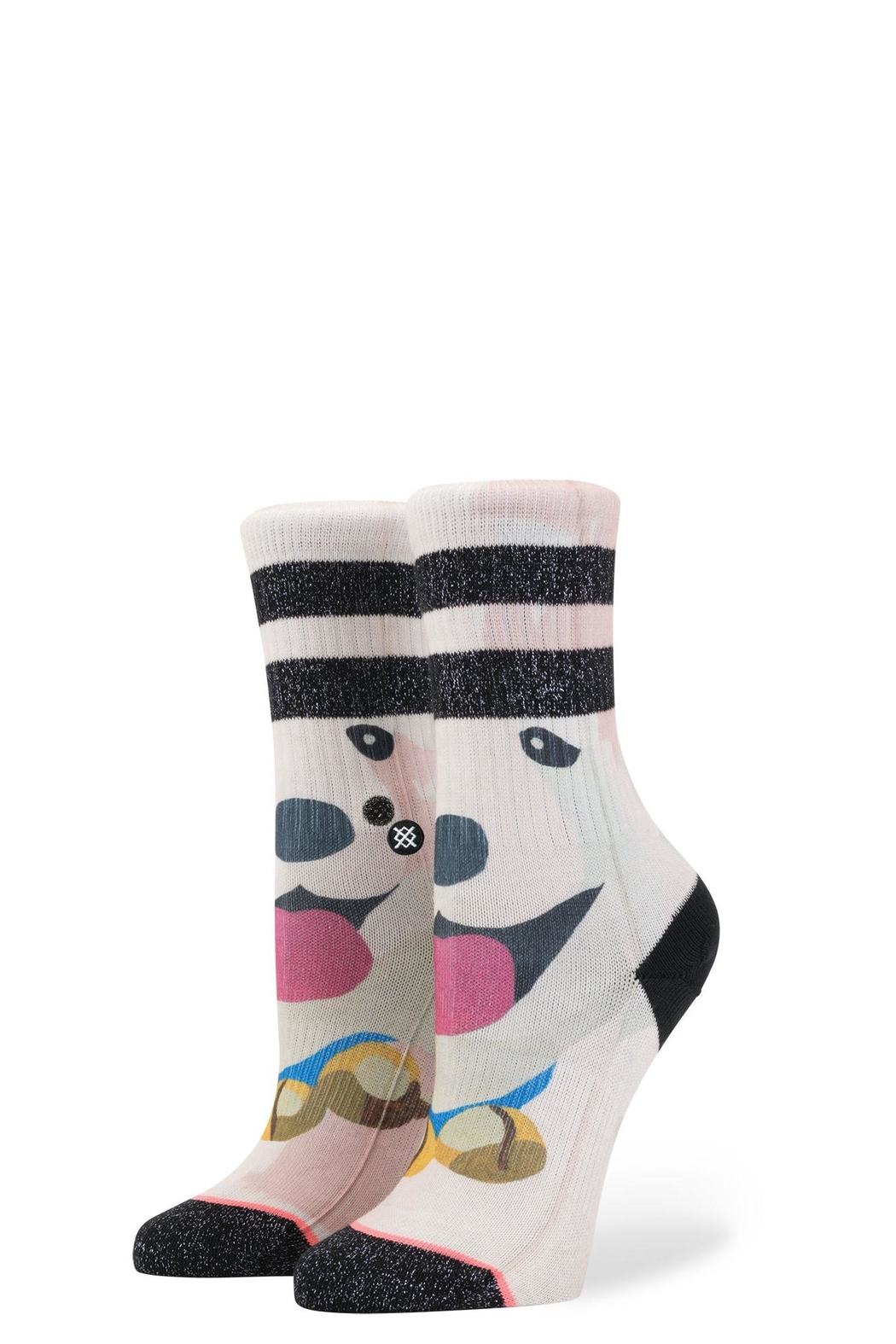 Stance Puppies Girls Socks - Front Cropped Image