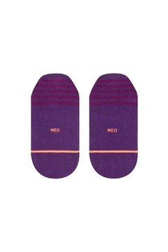 Stance Purple Invisible Socks - Alternate List Image