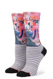 Stance Yes Darling Socks - Front cropped