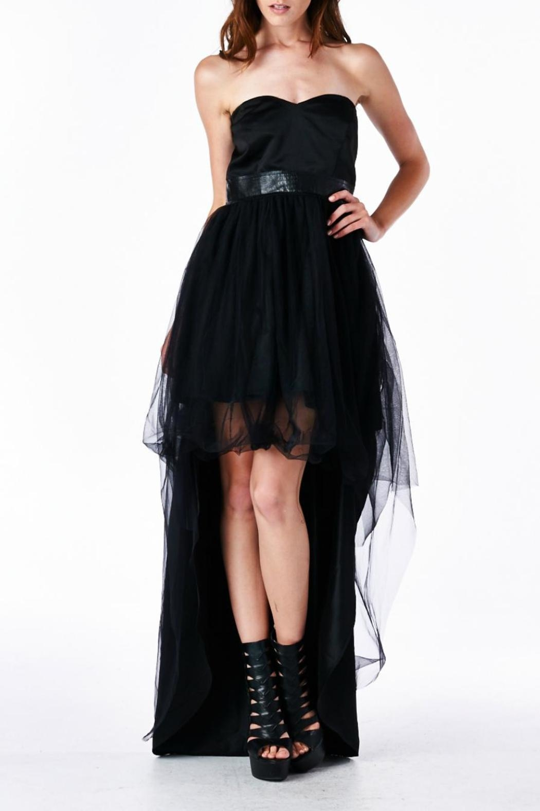 TOV Stand-Out Cocktail Dress - Front Full Image
