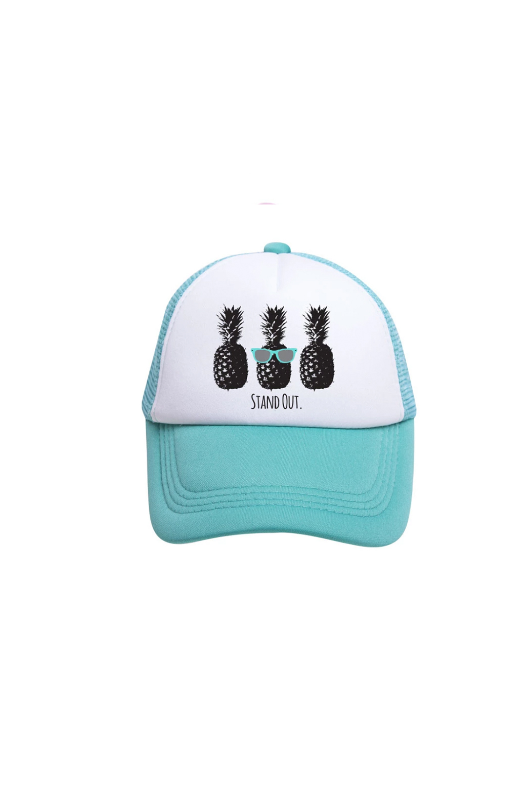 Tiny Trucker  Stand Out Trucker Hat - Main Image