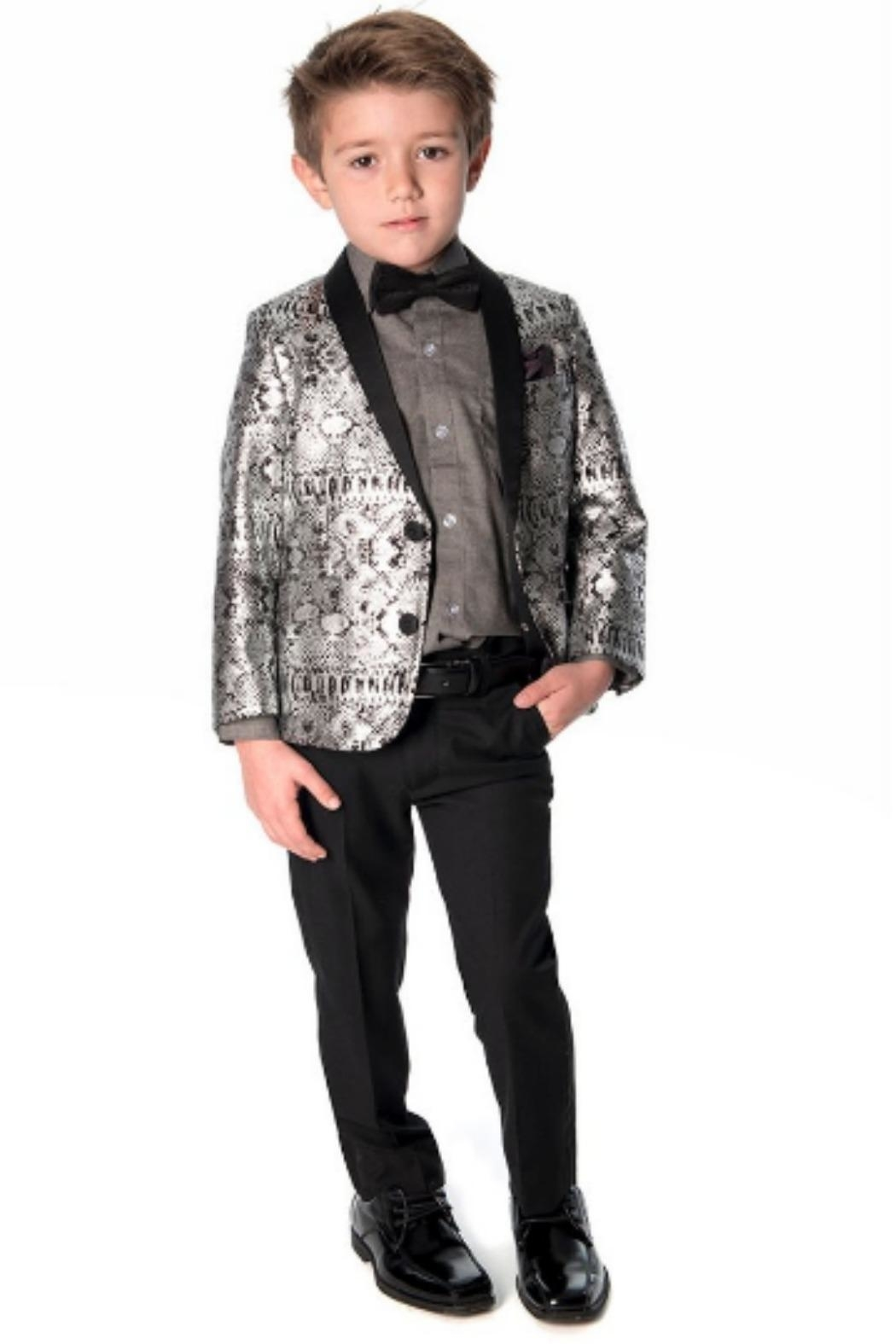 Appaman Standard Button-Up Black - Front Full Image